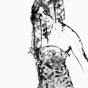 Smoke Girl by beau3765