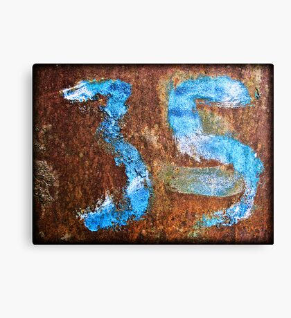 3 and...5? Canvas Print