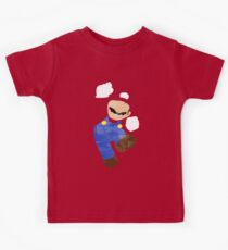 Project Silhouette 2.0: Mario Kids Tee