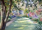 Walled garden by Ann Mortimer