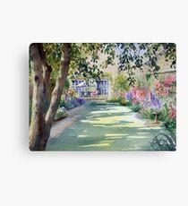 Walled garden Canvas Print