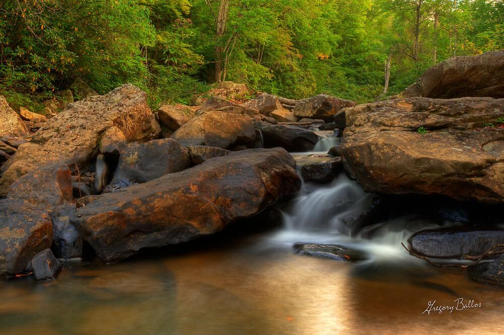 Boulder Falls by Gregory Ballos