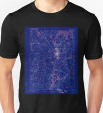Massachusetts  USGS Historical Topo Map MA Taunton 353067 1893 62500 Inverted T-Shirt