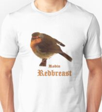 Robin Redbreast Unisex T-Shirt