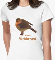 Robin Redbreast Women's Fitted T-Shirt