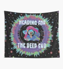 Heading for the Deep End Tapestry