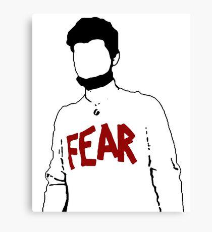 Mose = Fear Canvas Print