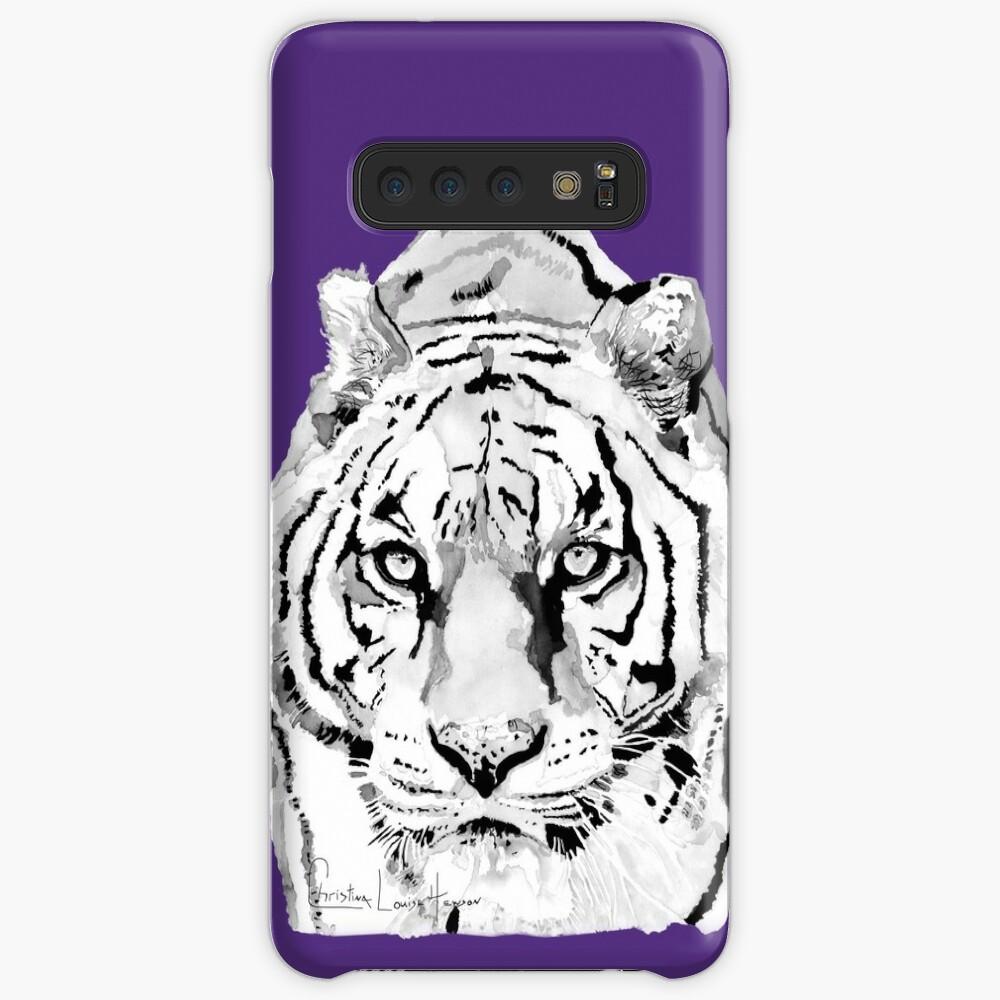 Tiger Purple Samsung Galaxy Snap Case