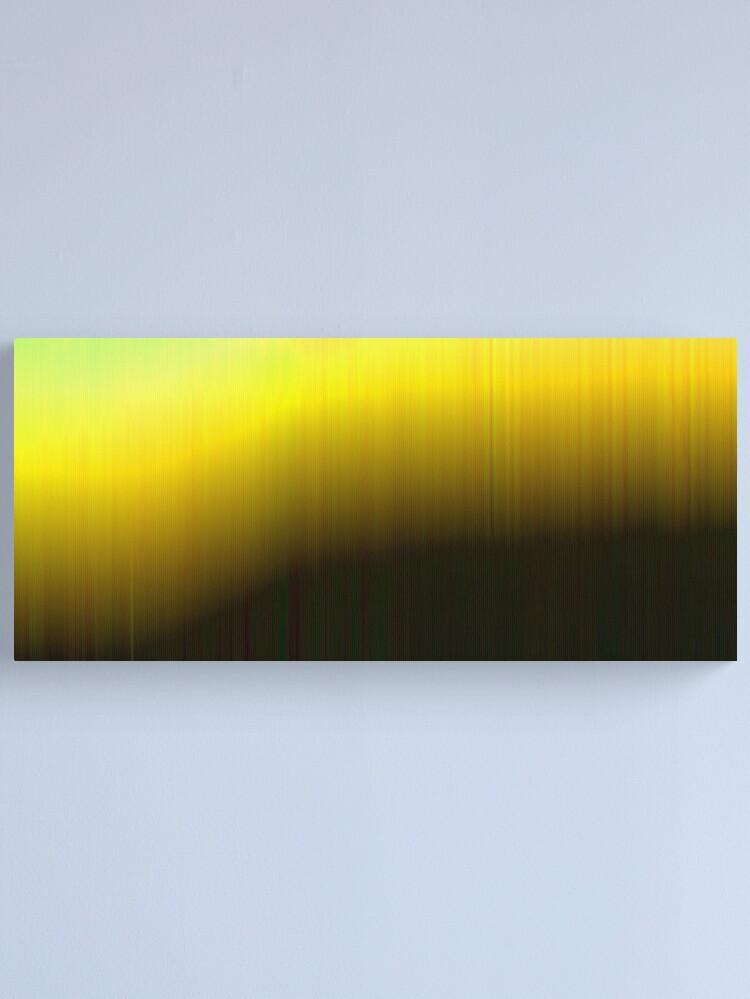 Alternate view of Black Hole Sun Canvas Print