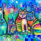 Urban cats 2 by Karin Zeller