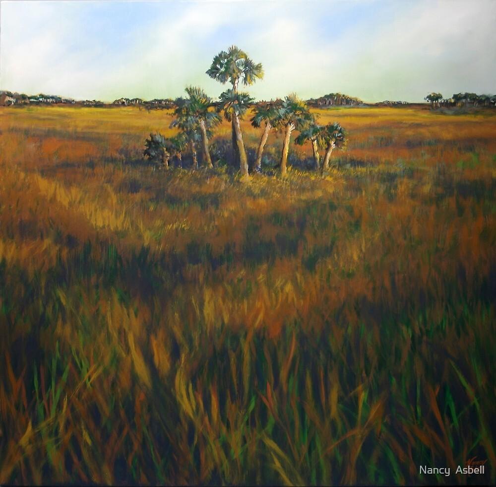 Ten Palms by Nancy  Asbell