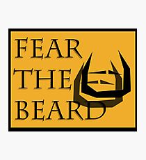 Fear The Bread Photographic Print
