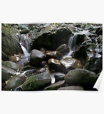 Fairy Pool, Barcaldine, Argyll Poster