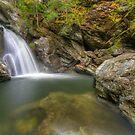 Bingham Falls - Wide View - HDR by Stephen Beattie