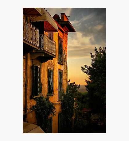 Feosole at Sunset Photographic Print