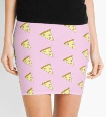 Pastel Pink Pizza Mini Skirt
