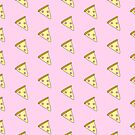 Pastel Pink Pizza by cozyreverie