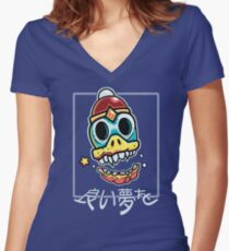 SWEET DREAMS DEUX Fitted V-Neck T-Shirt
