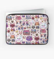 Feline Faces Laptop Sleeve