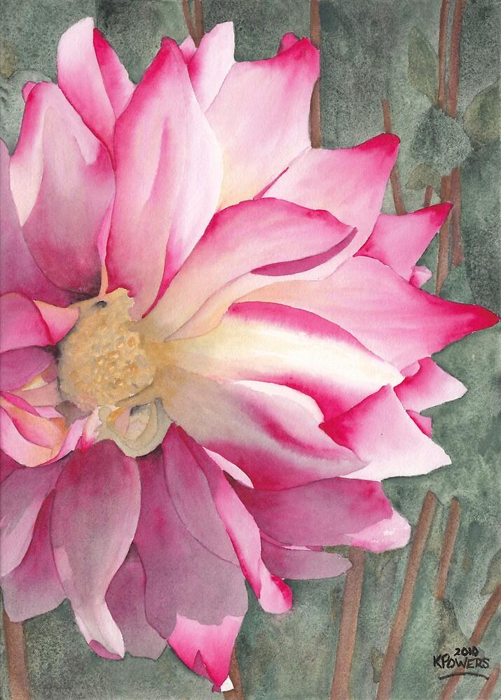 Point Defiance Garden Flower by Ken Powers