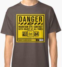 SCP 173 Warnschild Classic T-Shirt