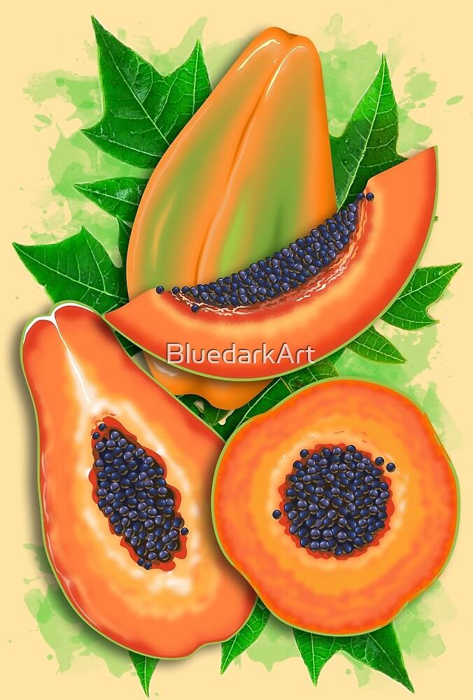 Papaya Party by BluedarkArt