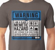 SCP 426 Warning Sign Unisex T-Shirt