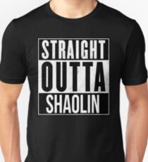 STRAIGHT OUTTA SHAOLIN T-Shirt