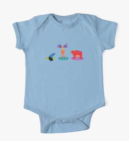 canadian animals Kids Clothes