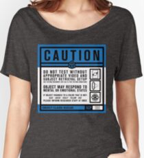 SCP 093 Warning Sign Women's Relaxed Fit T-Shirt