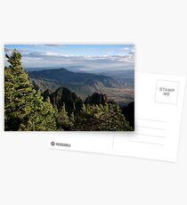 On top of Sandia Crest Postcards