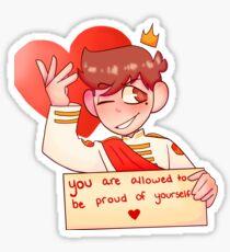 Roman Sanders Positivity Sticker