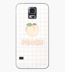 """PEACH"" GRIDS DESIGN Case/Skin for Samsung Galaxy"