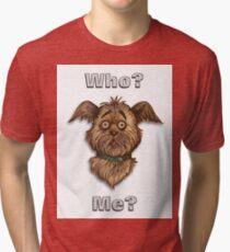 Who Me? Tee Shirt Tri-blend T-Shirt