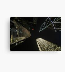 Banks reaching for the night sky Canvas Print