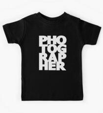 Gift For Photographer Kids Tee