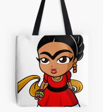 Chibi Frida Tote Bag