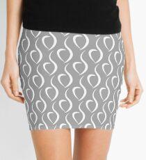 Quiet Eating Disorder Awareness [White] Mini Skirt