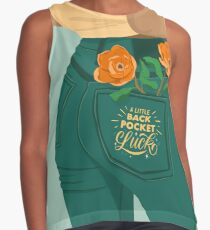 A Little Back Pocket Luck Sleeveless Top