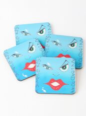 A Simple Kiss Can Lead To Anything Coasters