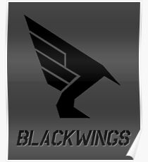Blackwings Squadron Logo Poster