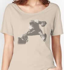 Hurdling Football Player Collection Women's Relaxed Fit T-Shirt