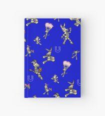 Zonkey Escape bandana blue  Hardcover Journal