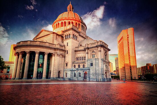 Christian Science Church by LudaNayvelt