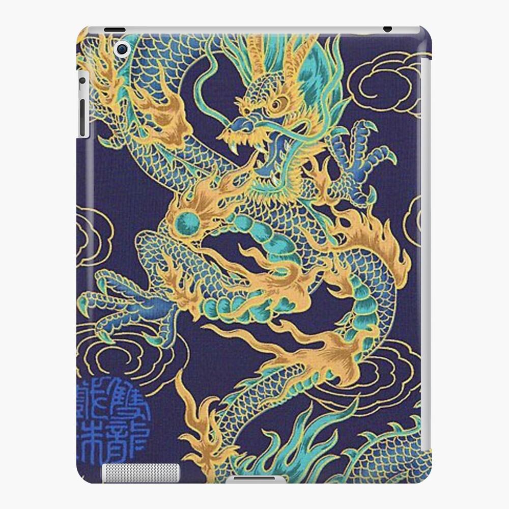 Vergoldungsdrache chinesisch iPad-Hülle & Skin