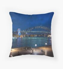 Grand final Pylon Projection Throw Pillow