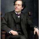 Gustav Mahler, ca. 1909 von Mario  Unger