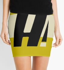 Hyperion Heroism Yellow Mini Skirt