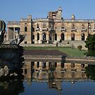Ruins in reflection by John Dalkin