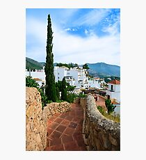 Greetings from the Costa del Sol / Spain Photographic Print